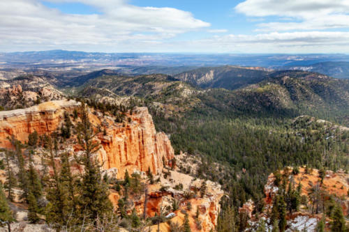 18-Mile Scenic Drive Farview Point Overlook at Bryce Canyon National Park #vezzaniphotography