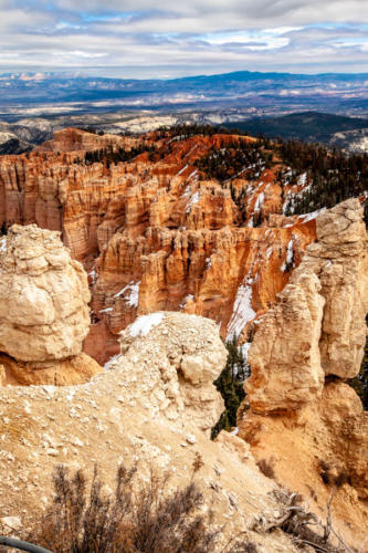 18-Mile Scenic Drive Rainbow Point Overlook at Bryce Canyon National Park #vezzaniphotography